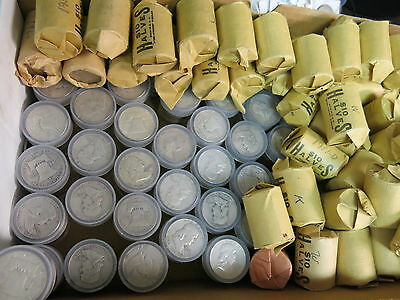 20 Franklin Half silver coins 1 roll Mixed  (20 coins total) all circulated