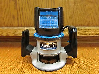 Vintage Sears Craftsman Double Insulated Router 315.17571  7.5 Amps Made in USA