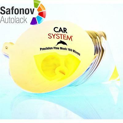 CAR SYSTEM MULTI STRAIN Colour sieve yellow 190 µ Fast screens 10 St 146.958/10