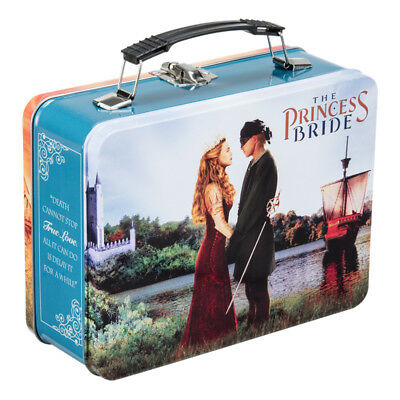 The Princess Bride Large Tin Tote Lunch Box Westley As You Wish Movie