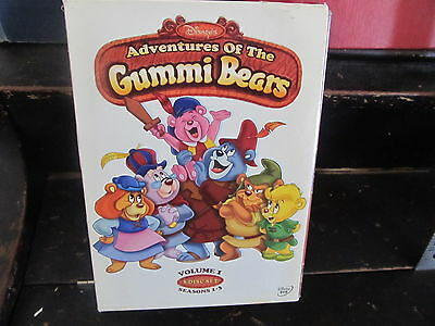 Disneys Adventures of the Gummi Bears DVD 2013, 3-Disc Set Seasons 1 2 3
