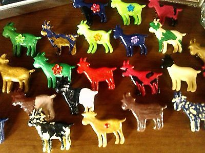 UNIQUE GIFT Support YOUTH FAINTING MYOTONIC GOAT SHOW BUY A GOAT PIN handmade