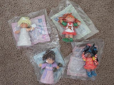 MCDONALDS 1992 CABBAGE PATCH DOLLS -COLLECTIBLE FIGURINES SET of 4 - NIP