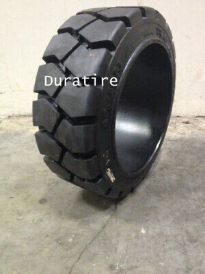 18x6x12 1/8 Advance Tire Solid Press On Forklift Tires Traction (2 Tires) 18x6x1