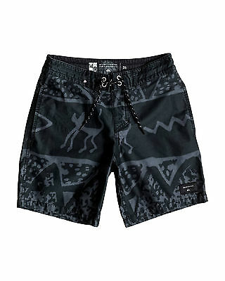 "NEW QUIKSILVER™  Boys 8-16 Ghetto Vee 15"" Boardshort Surf Board Shorts"