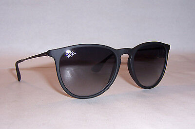 97d62a66b6 NEW RAYBAN SUNGLASSES 4171 RUBBER BLACK GRAY 622 8G 54mm AUTHENTIC ...