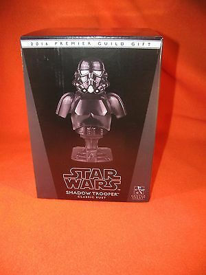 Mini Bust Shadow Trooper Star Wars Gentle Giant PGM Exclusive NIB