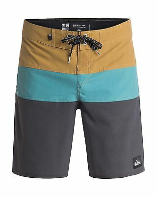 "NEW QUIKSILVER™  Mens The Panel Vee 19"" Boardshort Surf Board Shorts"