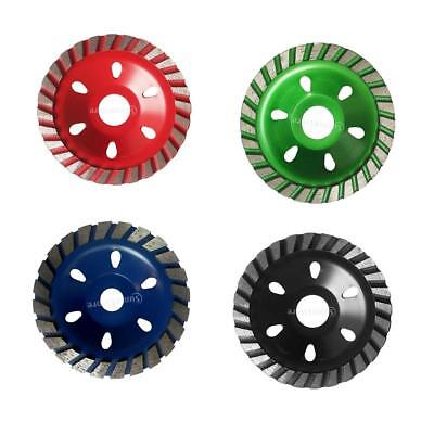 4 x Grinding Wheel Concrete Cup Disc 4inch Alloy Circle Metal Wood Marble