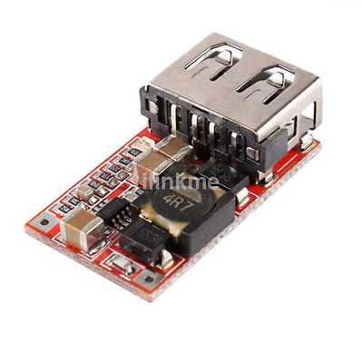 DC-DC Buck Module 6-24V 12V/24V to 5V 3A USB Step Down Power Supply Charger CA