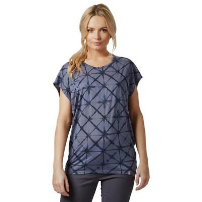Icebreaker Womens Nomi Short Sleeve Prism Top Outdoor Clothing One Colour
