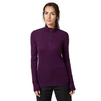 Purple Womens Icebreaker Everyday Baselayer Outdoor Clothing One Colour