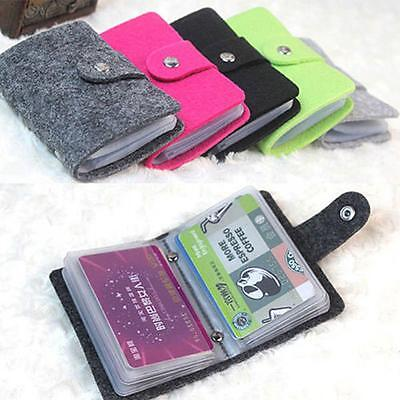 Case ID Women's Organizer Credit Card Card Holder