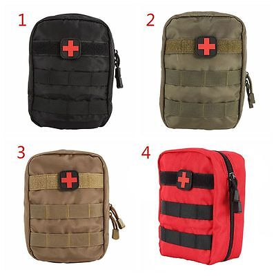 1Pcs Outdoor Tactical Medical First Aid Kit Emergency Bag Cover Travel Camping