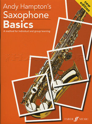Saxophone Basics Pupil's Edition Sheet Music Book Tutor Learn How To Play Method