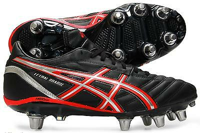 Asics Mens Lethal Charge 8 Stud Rugby Boots UK 6.5 - 10.5