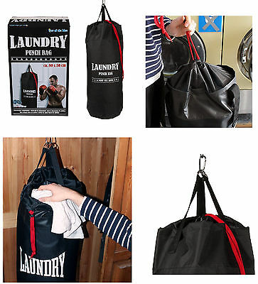 Suck Uk Novelty Punch Bag Drawstring Hanging Laundry Bag Home Household Supplies