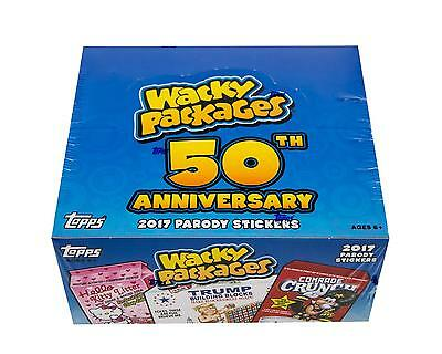 Wacky Packages 50Th Anniversary Hobby Box (Topps 2017)