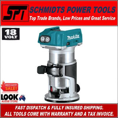 Makita Xtr01Z 18V Lxt Brushless Compact Router Cordless Laminate Trimmer - Skin