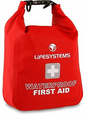 Lifesystems Waterproof First Aid Kit Ripstop Fabric Bag Case