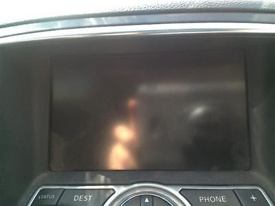 Info-Gps-Tv Screen Coupe Display Screen W/navigation System Fits 370Z 263682
