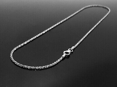 925 Sterling Silver Gorgeous Rhodium Finished Butterfly Chain Necklace