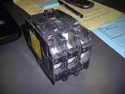 Square D QO3100 3 Pole 100-Amp 240-V SNAP-IN Circuit Breaker *USED*