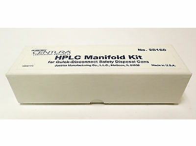 Justrite  28168 Hplc Manifold Kit For Quick-Disconnect Safety Disposal Cans