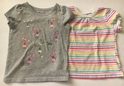 Lot of 2 Toddler Girl's Tops Size 3T