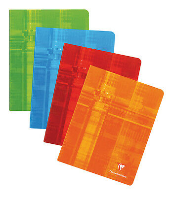 Clairefontaine #381 Notebook 6-1/2 x 8-1/4, Assorted Colors, French Ruled