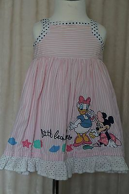 Disney Store Minnie Mouse and Daisy Sun Dress baby  size 18- 24 months