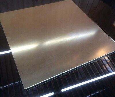 "1/8 BRASS SHEET PLATE NEW 12""X12"" .125 Thick *CUSTOM 1/8 SIZES AVAILABLE*"