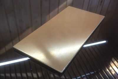 "1/8 BRASS SHEET PLATE NEW 4""X8"" .125 Thick *CUSTOM 1/8 SIZES AVAILABLE*"