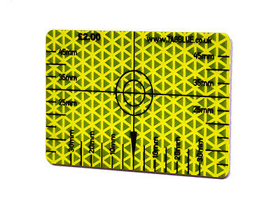 Reflective Survey Target Setting Out Card ( retro)