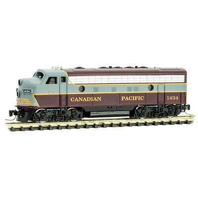Micro-trains Z Canadian Pacific EMD locomotive F7-A - Rd#1434 MTL98001120