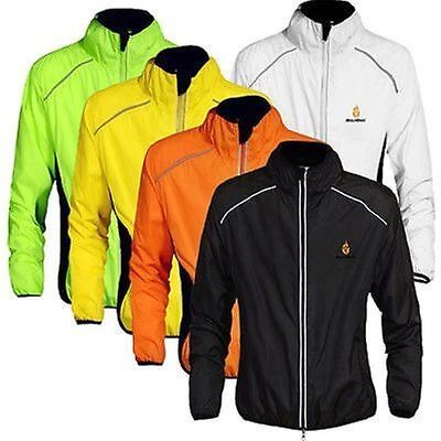 Outdoor Field Waterproof Bike Cycling Wind Rain Coat Long Sleeve Jacket Jersey