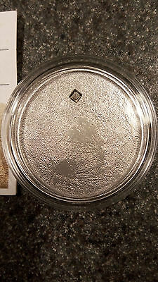 2009 Cook Islands Lunar Meteorite Fly Me To The Moon Silver Proof Coin Meteor