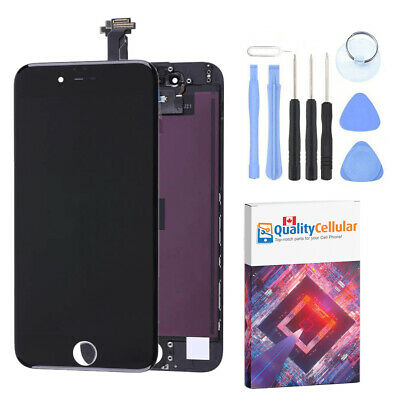Black LCD Touch Screen Digitizer Assembly for iPhone 6 A1549 A1586 A1589