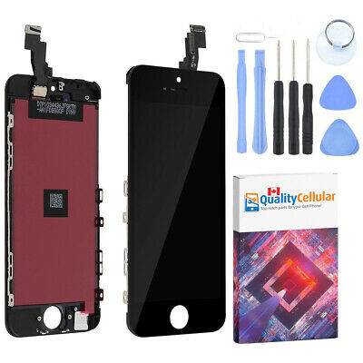 iPhone 5C LCD Touch Screen Digitizer Replacement Assembly + Tools - Black
