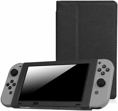 Fintie Protective Case for Nintendo Switch 2017 Slim Fit Play Stand Cover PU