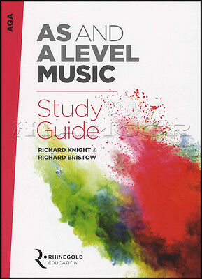 AQA AS And A Level Music Study Guide from 2016 Theory Music Book Rhinegold