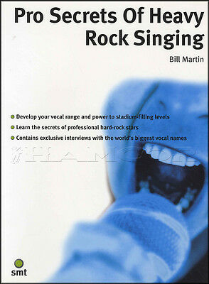 Pro Secrets of Heavy Rock Singing Book Sing Develop Vocal Range & Power