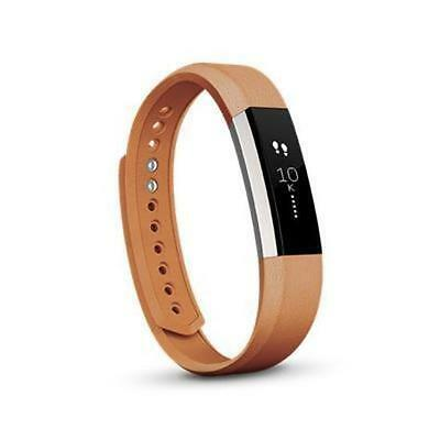 Leather Band for Fitbit Alta (Camel/Large)