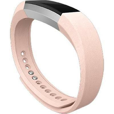 Leather Band for Fitbit Alta (Pink/Small)