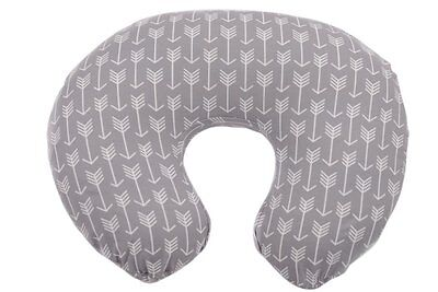 Danha Nursing Pillow Slipcover Grey Arrow Breastfeeding Baby New Gift Mommy