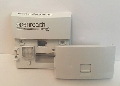 5x New 2016 VERSION - Genuine BT Openreach Master Socket NTE5c
