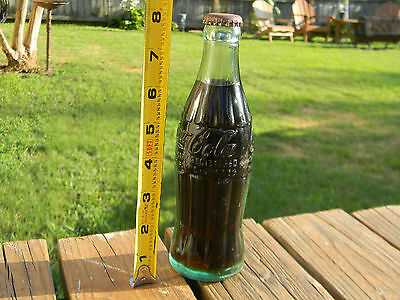 Rare Vintage Coca Cola Bottle Deland  Fla 6 Oz. Coke Bottle