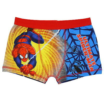 1 Pair Ultimate Spiderman Boxer Shorts for Boys
