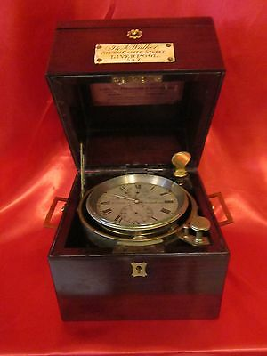 19th century marine chronometer