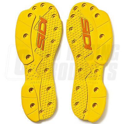 Sidi SMS Replacement Supermoto SRS Soles - Yellow